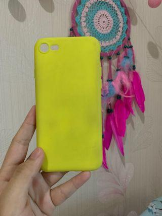 Yellow Stabilo Case Iphone 7