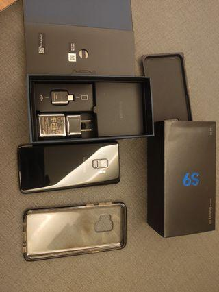 Samsung s9  64g 黑色保固內