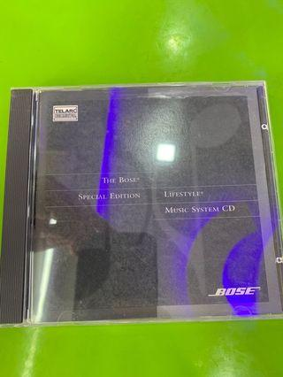 The Bose lifestyle music system cd