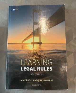 English Legal System - Law Book
