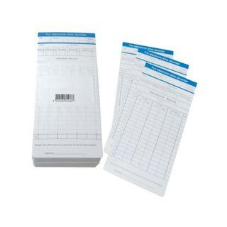 Standard Punch Card for Time Recorder