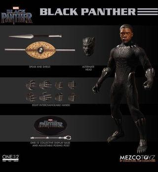 [In hand] Mezco One:12 Black Panther
