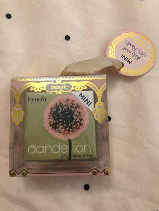 Brand new benefit - Dandelion blush mini