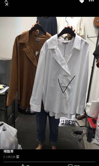 🚚 正韓白襯衫