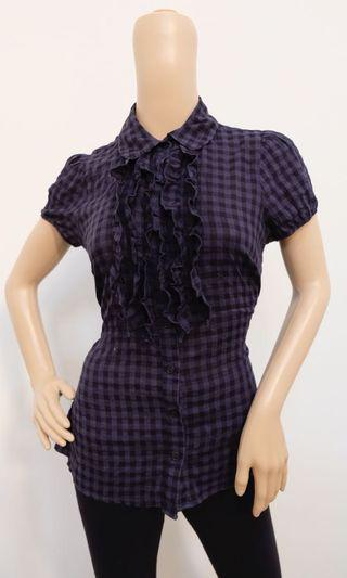 Forever21 Checkered Top