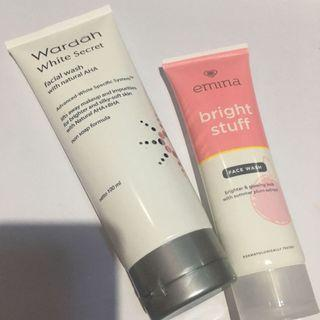 75k GET 2‼️/Wardah White Secret+Emina Facial Wash