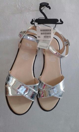Sandal H&M silver