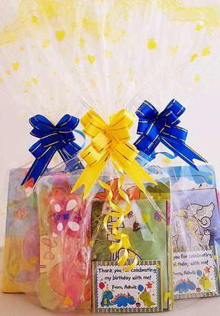Goodie bag, goody bag, puzzle, birthday tag, birthday pack