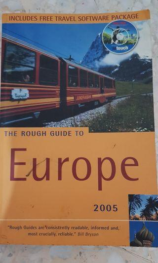 🚚 Rough guide to Europe+cd