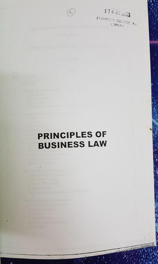 Principles of business law