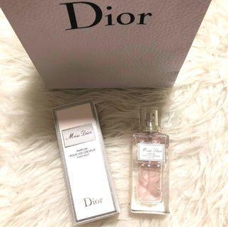Miss Dior Perfume hair mist perfume