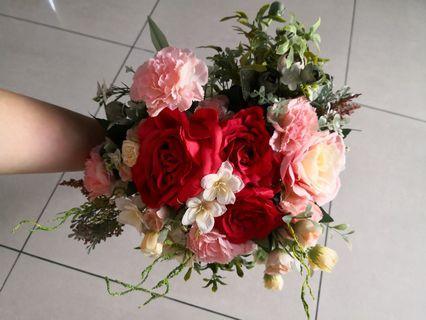 Wedding Artificial Flower Bouquet