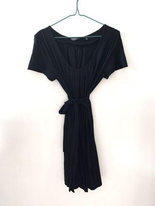 Marc jacob pleated black dress