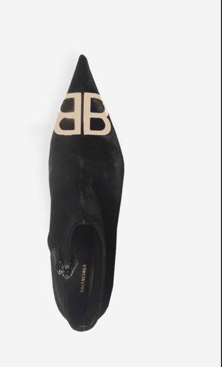 Balenciga inspired heels