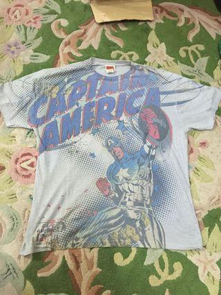 Tshirt marvel captain america full print