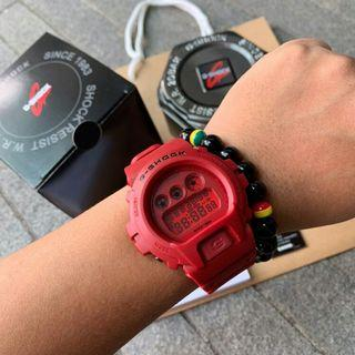 G-SHOCK DW6900 RED OUT