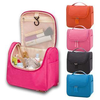 Travel Cosmetic Organizer Hanging Bag with Holder