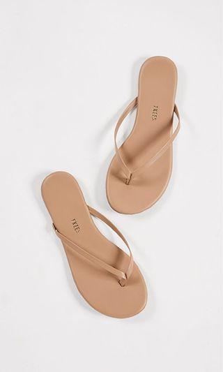 Brand new TKEES flip flops