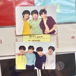 [ wts ] bts love yourself tour japan edition mini pcs