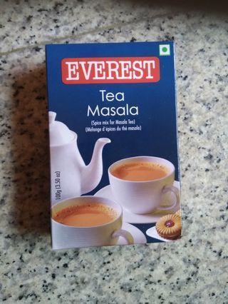 Everest Masala Tea spice mix exp Oct 2020