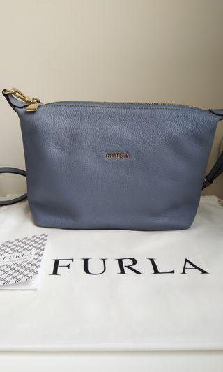 FURLA Sophie Leather Crossbody Bag