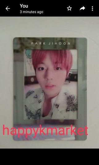Wts park jihoon film card