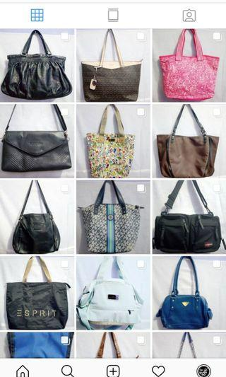 Coach,Furla, Guess, Tommy hHilfiger, Hush Puppies, Smiggle, Adidas