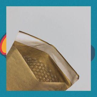 🚚 Bubble wrap mailing envelopes
