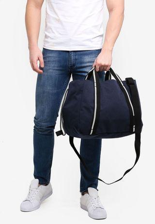 Crumpler Gesture Duffle Sling Bag blue color