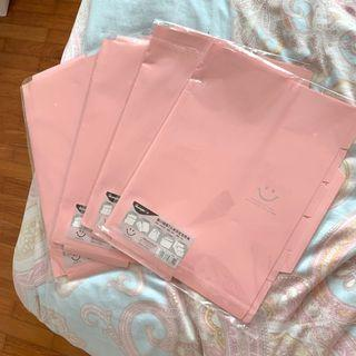 pastel glossy pink file