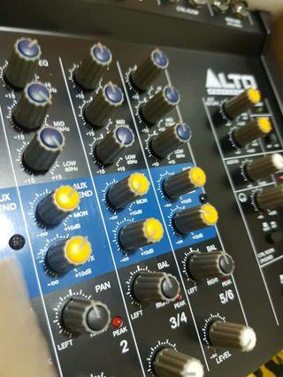 Alto 6 channel mixer