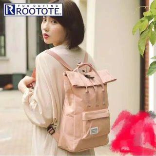 Rootote Backpack tas Ransel import Jepang Murah