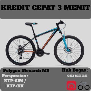 Sepeda gunung polygon monarch M5 cicilan tanpa kartu kredit