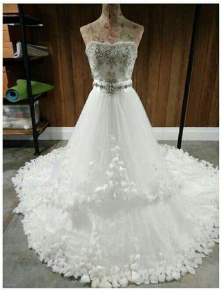 Wedding Gown Semi Ball gown