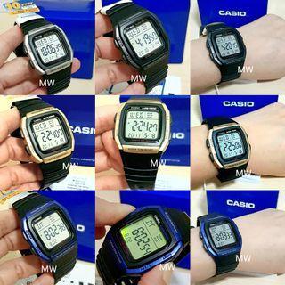 🚚 Casio original men digital resin sports watch w96h brand new