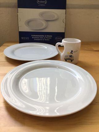 Breakfast Plate (German)