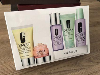 Clinique Gift Set/ Travel Set 5 pieces