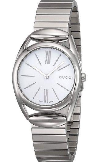 Women's stainless steel Gucci watch