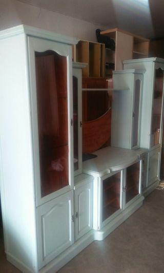 Cabinet tv jati wood