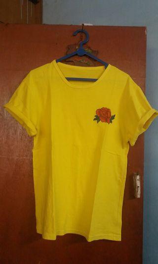 Tshirt Yellow / Kaos Kuning / Tumblr Tee