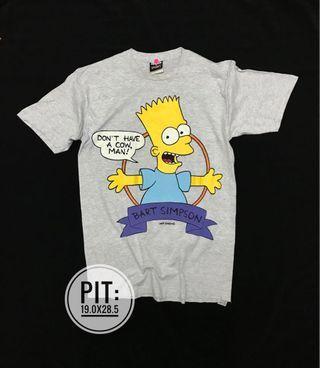 Vintage bart simpson 90's t shirt