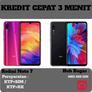 Redmi Note 7 4/64 cicilan tanpa kartu kredit