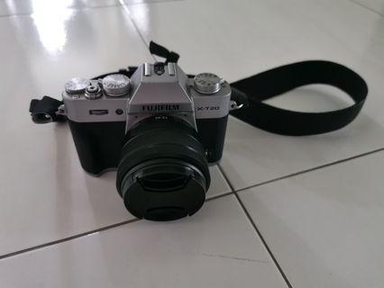 Fuji xt20 with xc15-45mm