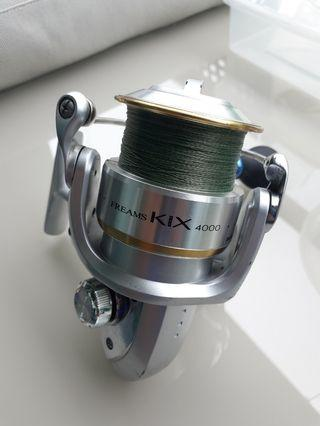 Fishing Reel - Daiwa Freams Kix 4000 (Spinning)