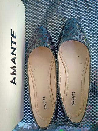 Amante flat shoes black