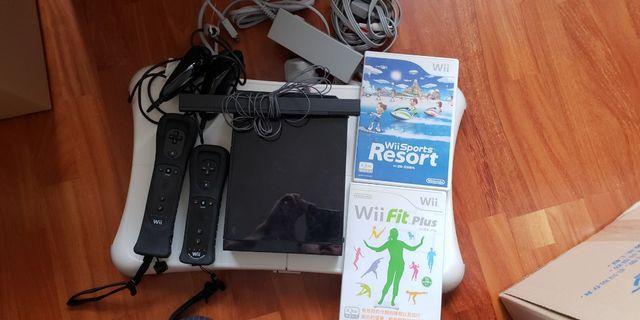Ninetendo Wii RVL-001 (HKG) 全套(如圖)