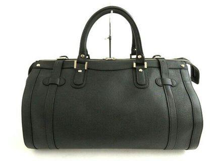 Authentic Premium Leather Boston Bag by Gold Pfeil Germany