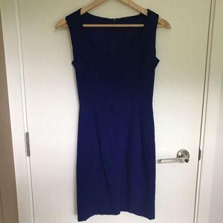 藍色連身裙 Summer Bodycon Dress