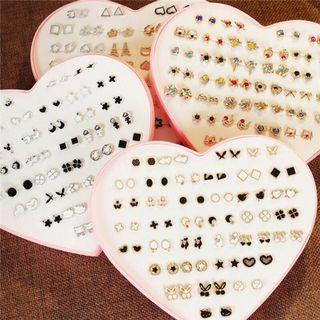 36 pairs/box Women Earrings