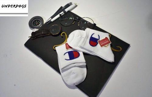 Champion Mid length socks; champion socks; streetwear